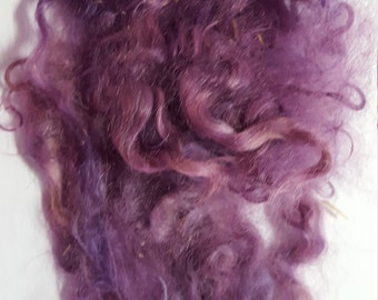 Mohair Locks- Shades of Lavender, 4 grams