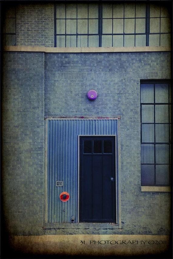 Architecture Fine Art Photography Print Black Door Modern Home Decor Wall Art