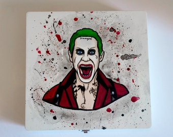 Suicide Squad - Joker - Hand Painted Decorative Box