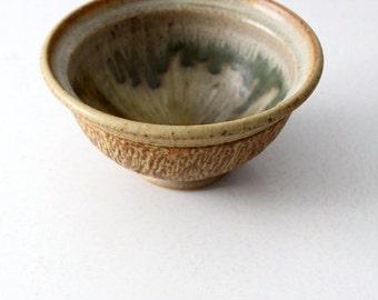 SALE vintage studio pottery bowl