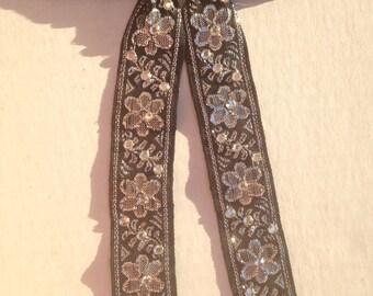 Rhinestone Tie