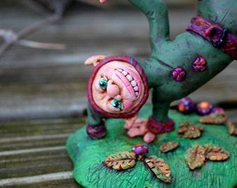 Elf Fairy Polymer Clay Sculpture
