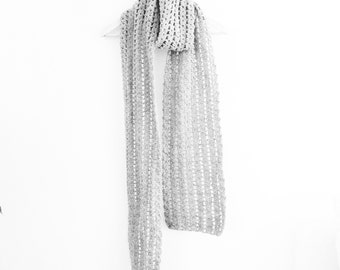 Crochet Winter Scarf Pattern - PDF Instant Download