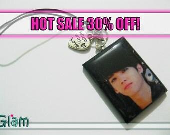 SALE limited edition INFINITE Woohyun Handmade Phone Charm