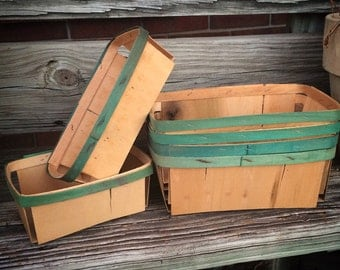 6 Vintage Berry Baskets The Best Way To Organize Your Junk