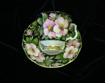Royal Albert Alberta Rose Provincial Flowers Series Cup and Saucer