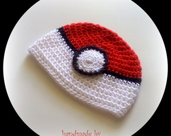 Pokeball Hat Pokemon Go Hat Kids Men Women