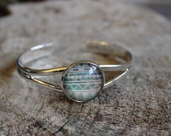 Bracelet petite merveille motif aztec (BR-47)