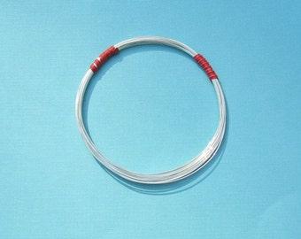 3 Feet 20ga Sterling Silver Wire - Round, Half Hard