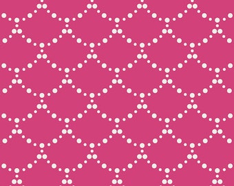 1 Yard Ripples Pink, Millie Fleur Collection, Art Gallery Fabrics, Quilting Cotton