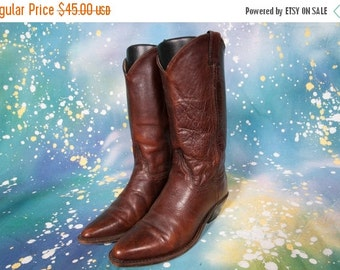 30% OFF Brown Cowboy Boot Women's Size 7 M