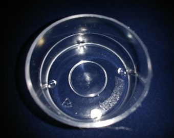 Plastic Tealight Cups - V0 Clear Polycarbonate Tea Light Candle Containers