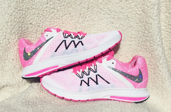 high-quality Crystal Nike Air Zoom Winflo 3 Premium Women s by SparkleNvie d1bc23aae