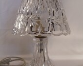 Beautiful Romantic  Cottage Shabby Chic Princess House Glass Lamp