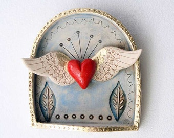 Winged Heart Shrine-Valentine's Day gift