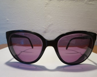 Vintage Bolle Acrylex Oversized Sunglasses Frames made in France