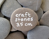 Reserved for GINA - 25 Flat Beach Stones 3.5 cm
