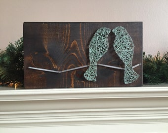String art Love Birds