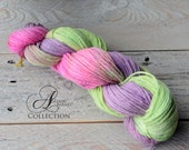 Dyed to Order Superwash Merino Wool Yarn - Awesome Blossom