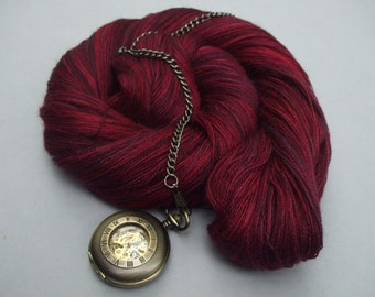 Sure is Silky Cobweb Lace. Ruby Droplets