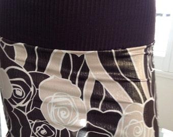 "Micro Mini Skirt, the Bootay Design ""Chocolate Candy"""