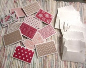 Little Note Cards and Envelopes  Set of 12  Package  #1