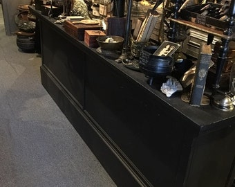 Antique Counter General Store Counter at Gothic Rose Antiques