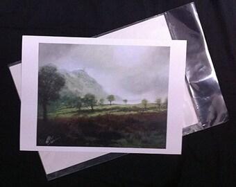 Veiled - A4 Print