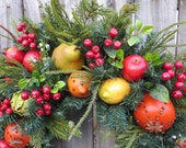Reserved for Obaron - Fruit Wreaths