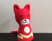 Mini Flashcat, The Flash Comic Cat Stuffed animal plush