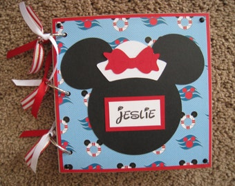 Cruise Disney Autograph / Photo Book - Minnie Mouse - Now with Acrylic Cover Option