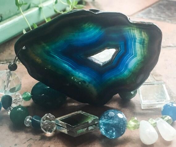 Asteria Gemstone & Crystal Garden Charm Suncatcher...for