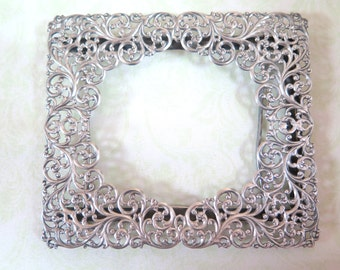 Sterling Silver vintage photo frame