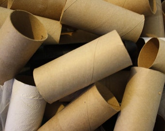 Paper Towel Toilet Paper Roll Tubes--Lot of 50--Craft Supply--Paper Art--Recycle Crafts--Teacher Crafts--Summer Camp Crafts--Vacation Bible