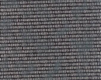 Juniper Berry Checking Twice in Coal Black, BasicGrey, 100% Cotton, Moda Fabrics, 30434 16