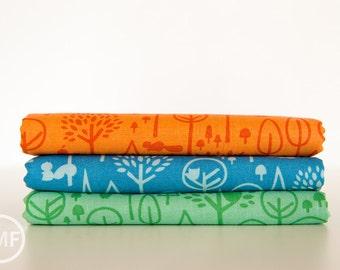 Scenic Route Trees Half Yard Bundle , 3 Pieces, Deena Rutter, Riley Blake Designs, 100% Cotton Fabric, C3663