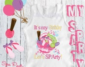 Spa Day Birthday | Spa theme | It's my Birthday Let's SPArty | birthday tee | birthday shirt
