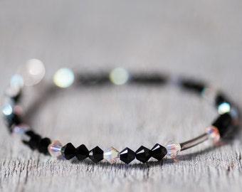 Minimalist Swarovski Crystal Bracelet, Summer Bracelet, Summer Jewelry, Swarovski Jewelry, Minimalist Jewelry, Elegant Jewelry For Her