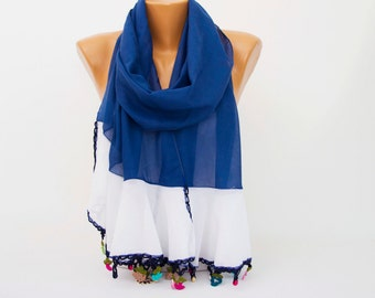 Turkish oya scarf , turkish yemeni , summer scarf