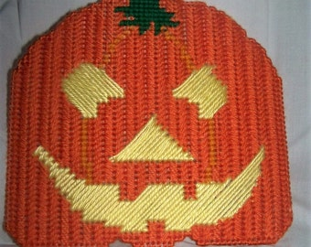 Fall Halloween Pumpkin Wall Hanging