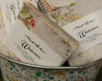 Windermere mini charm packs by Brenda Riddle moda fabrics