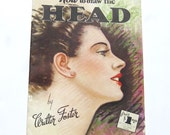Vintage Art Book: How to Draw the Head, Walter Foster Art Instruction,