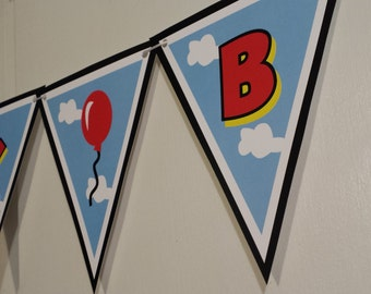 MICKEY MOUSE CLUBHOUSE Banner - Balloons and Stars