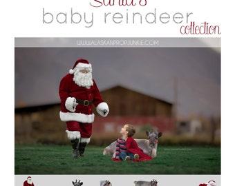 Santa's Baby Reindeer Collection - Baby Reindeer, Reindeer Overlays, Santa's Reindeer