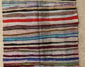 "300X130  cm ( 9' 8"" x 4' 3"") FREE SHIPPING worldwide KL28185 vintage berber kilim rug, flat rug, moroccan rugs , rag rug,morocco carpets"