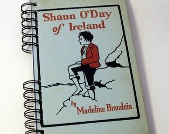 1929 IRELAND TRAVEL JOURNAL Handmade Journal Vintage Upcycled Book Travel Ireland Journal