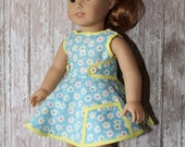 American Girl for Maryellen 1950s Playsuit - vintage looking fabric