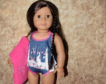 American Girl Swimsuit set - Summer is coming