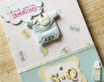 Baby Scrap Book - Accordion Style, Blank