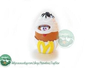 "McDonalds Halloween McNugget Buddy Mummy ""Mummie"" 1990s Toy"